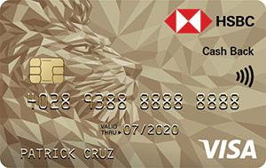 HSBC Gold Visa Cash Back Credit Card - HSBC PH